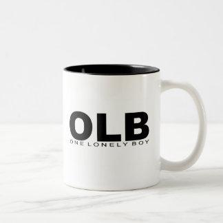 "Attitudes - ""One Lonely Boy"" Two-Tone Coffee Mug"