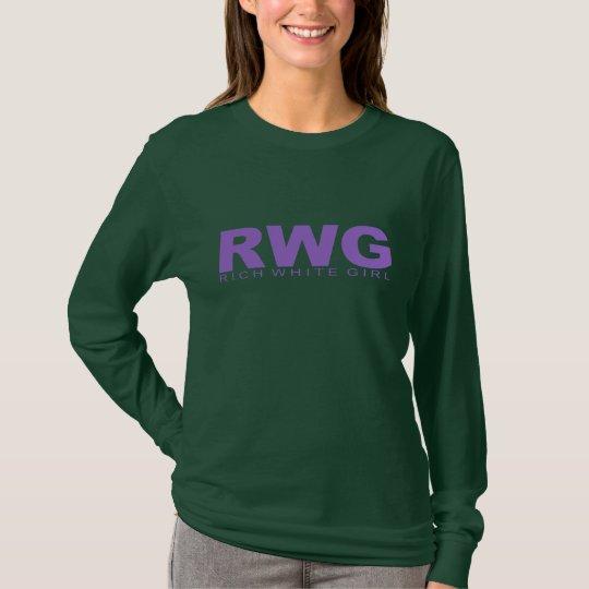 "Attitudes - ""Rich White Girl"" T-Shirt"