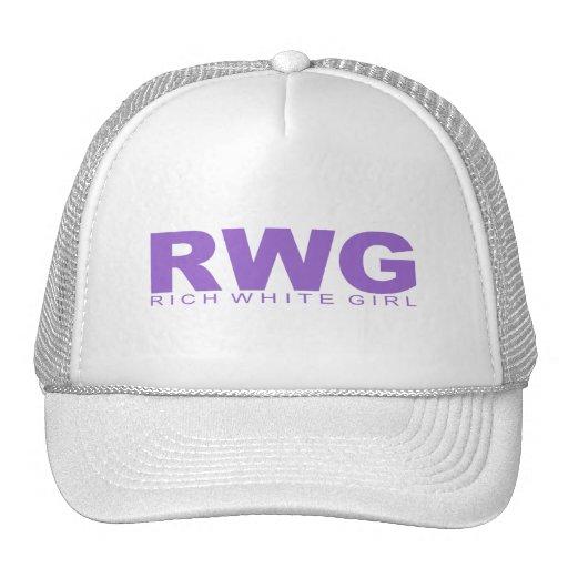 """Attitudes - """"Rich White Girl"""" Trucker Hat"""