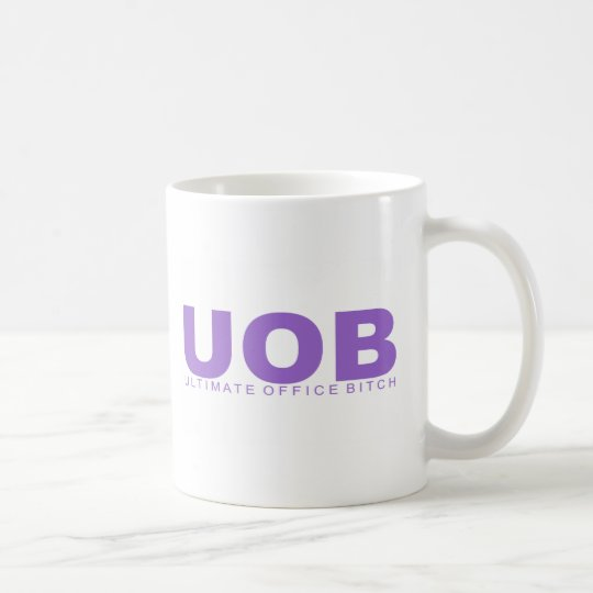 "Attitudes - ""Ultimate Office Bitch"" Coffee Mug"