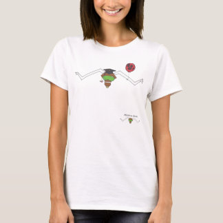 Attitudinous Animals® Lone Star Steer Graduation T-Shirt