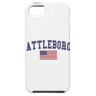 Attleboro US Flag iPhone SE/5/5s Case