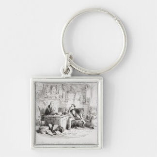 Attorney and Client, fortitude and impatience Keychain
