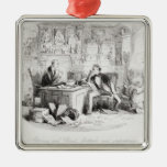 Attorney and Client, fortitude and impatience Christmas Tree Ornament