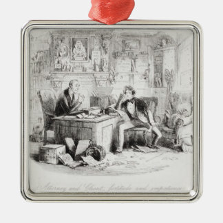 Attorney and Client fortitude and impatience Christmas Tree Ornament