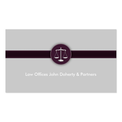 Attorney at law business card zazzle for Law business cards