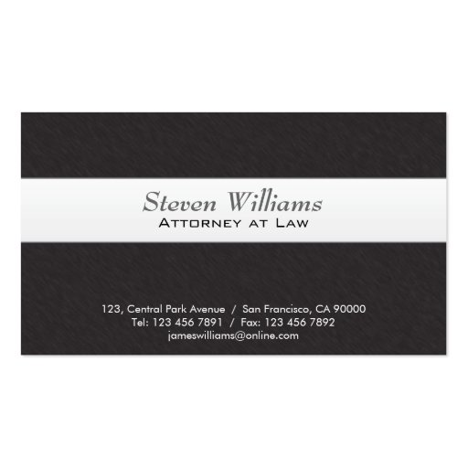 Lawyer business card templates standard size page3 bizcardstudio attorney at law business cards cheaphphosting Image collections