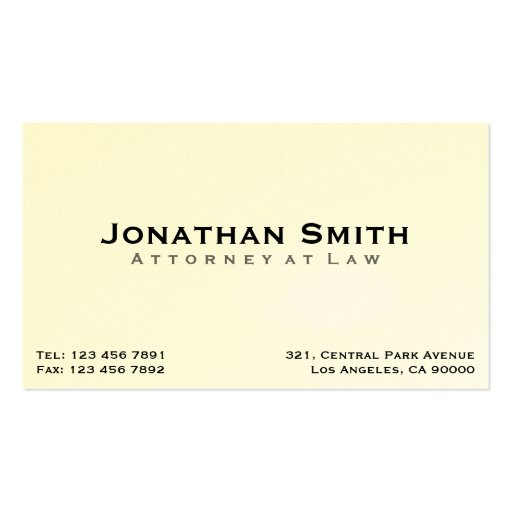 attorney at law business cards zazzle