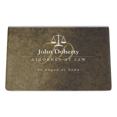 Attorney at law classic lawyer desk business card holder zazzle colourmoves