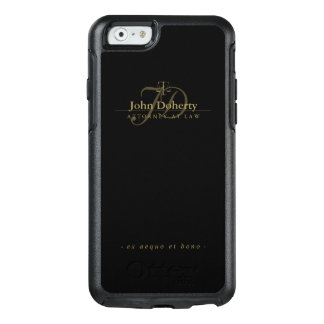 Attorney At Law | Elegant Gold Scales of Justice OtterBox iPhone 6/6s Case