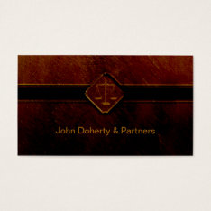 Attorney At Law | Legal Professions Business Card at Zazzle