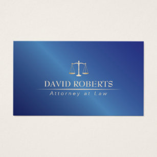 Law student business cards templates zazzle attorney at law metal blue lawyer business card wajeb Choice Image