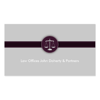 Attorney at Law | Perfect Modern Lawyer Business Card