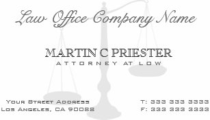 Watermark business cards zazzle attorney at law scale watermark business card colourmoves