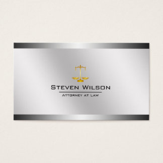 Legal business cards 1900 legal business card templates attorney at law white and silver steel legal scale business card reheart Choice Image