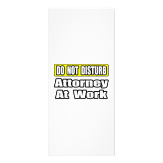 Attorney At Work Rack Card
