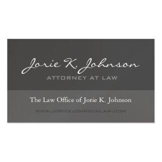 Attorney Business Card - Custom