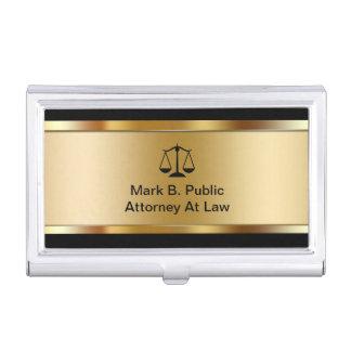 Attorney Business Card Holder