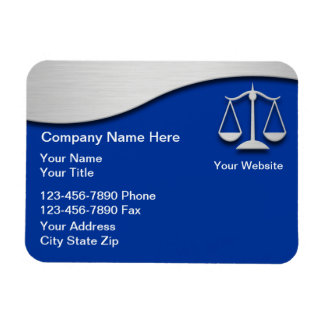 Attorney Business Magnets Flexible Vinyl Magnets