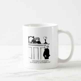 Attorney Cartoon 5496 Coffee Mug