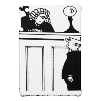 Attorney Cartoon 5496 Cover For The iPad Mini