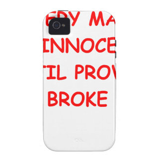 attorney Case-Mate iPhone 4 cover