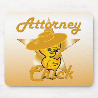 Attorney Chick #10 Mouse Pad