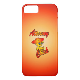 Attorney Chick #5 iPhone 8/7 Case