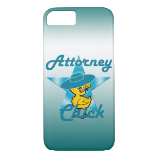 Attorney Chick #7 iPhone 8/7 Case