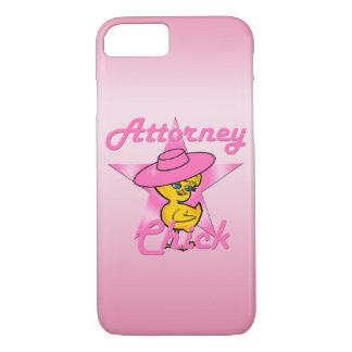 Attorney Chick #8 iPhone 8/7 Case