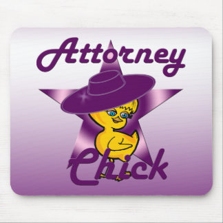 Attorney Chick #9 Mouse Pad