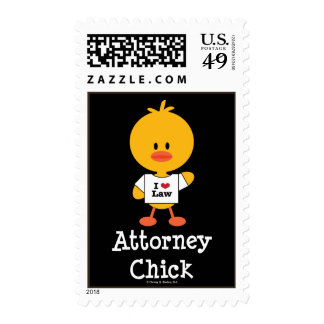 Attorney Chick Postage Stamps