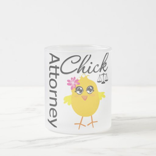 Attorney Chick v1 Coffee Mug