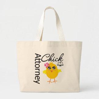 Attorney Chick v1 Large Tote Bag