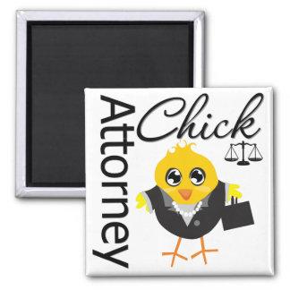 Attorney Chick v2 Magnet