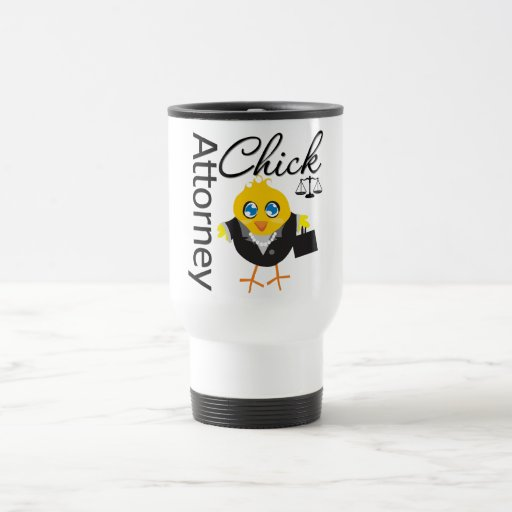 Attorney Chick v3 15 Oz Stainless Steel Travel Mug
