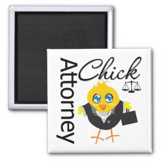 Attorney Chick v3 Refrigerator Magnet