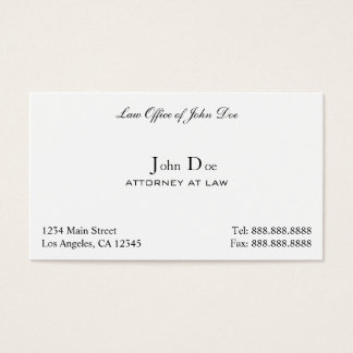 Law Office Business Cards & Templates | Zazzle