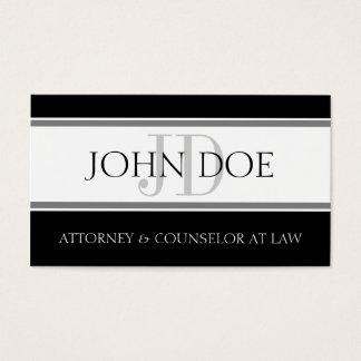Attorney D Stripe W/W Business Card