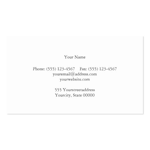 Attorney Dark Gray Linen Look Business Card (back side)