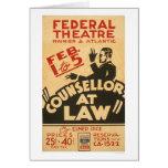 Attorney Drama 1938 WPA