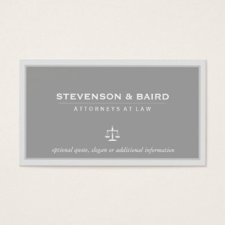 Attorney Elegant Business Card