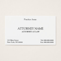 Attorney business cards 3300 attorney business card templates attorney elegant clean business card colourmoves