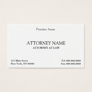 Attorney business cards 3300 attorney business card templates attorney elegant clean business card fbccfo Choice Image