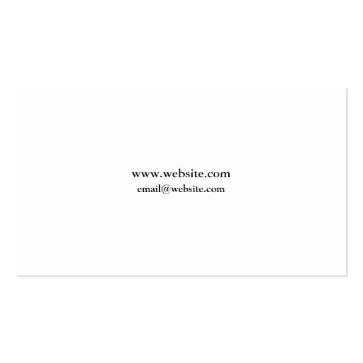 Attorney Elegant Clean Business Card Templates (back side)