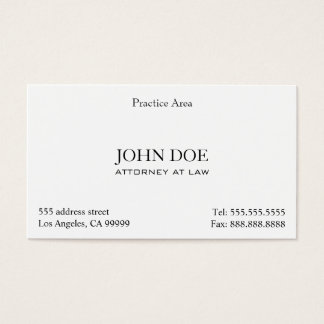 Attorney gifts on zazzle attorney elegant clean ii business card colourmoves