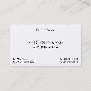 Attorney business cards 3300 attorney business card templates attorney elegant clean business card wajeb Choice Image