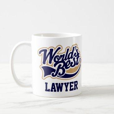 Attorney Gift Worlds Best Lawyer Coffee Mug
