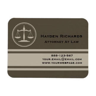Attorney Justice Scales Lawyer Magnet
