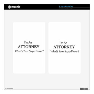 Attorney Kindle Fire Skins
